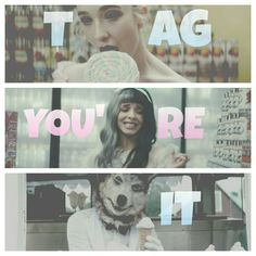 Tag You're It (Melanie Martinez new music video) artist// @evelyn27campos