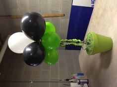 Balloon topiary for sweet sixteen party...I'm really proud of how it turned out.
