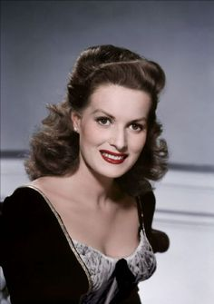 The beautiful, Maureen O'Hara