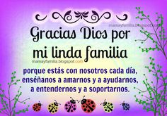 Gracias Dios por mi linda familia!!!