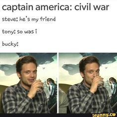 BUCKYS MORE IMPORTANT THAN U TONY STOP MAKING EVERYTHING ABOUT U -R