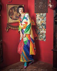 #振袖 #着物 #アンティーク着物 #アンティーク振袖 #成人式 #kimono姫