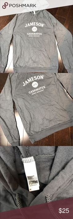 """Jameson Caskmates Hoodie Unisex Size M Love Jameson?  Then this sweatshirt is right up your alley!  Soft and lightweight.  ☘️ Size  - Unisex Medium ☘️ Color - Blue/Grey Color  Please """"comment"""" below with questions on this listing or other listings in my closet.  I accept resonable offers!  Please, no trades.  The other items pictured are not sold with this listing. Other"""