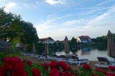 Sommer-Wellness mit Genuss im Seehotel Niedernberg bei Frankfurt am Main +++ Seehotel Niedernberg Wellness-Special, Seehotel Niedernberg Beach Club u.v.m.