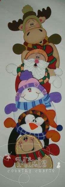 Amigos navideños