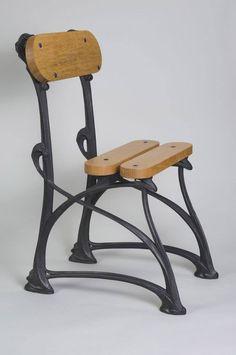 Iron Furniture, Art Deco Furniture, Funky Furniture, Furniture Design, Motif Art Deco, Art Deco Design, Art Nouveau, Blacksmith Projects, Forging Metal