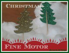 Christmas Fine Motor