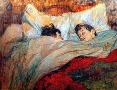 Toulouse-Lautrec, Lie lit, 1892