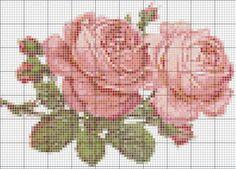- две РОЗЫ   - РОЗЫ (маленькая схема) - РОЗА с бантом - розовые РОЗЫ - РОЗОЧКА И в заключение маленькие схемки, но очень элегантные: