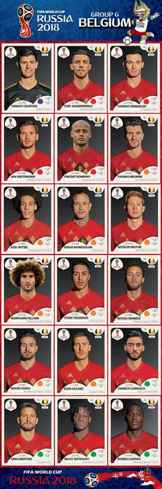 Belgium World Cup 2018 Players Uefa Football, Football 2018, Best Football Team, Football Memes, Football Cards, World Cup Russia 2018, World Cup 2014, Fifa World Cup, Chelsea Fc