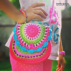 Crochet pattern by VendulkaM - San Francisco purse, digital pattern, DIY, Pdf