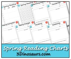 Download A Free Spring Printable Pack From This Reading Mama