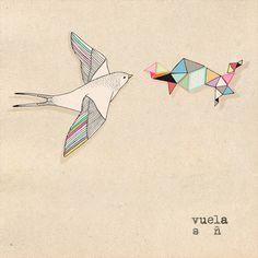 bird Art Print by Belén Segarra | Society6