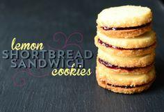 Pixel Whisk: Lemon Shortbread Sandwich Cookies