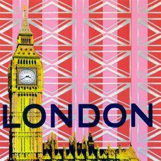 Take Me Away London Canvas Wall Art