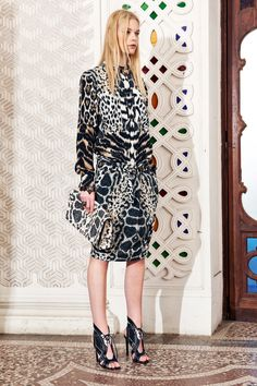 Roberto Cavalli Resort 2014 - Review - Fashion Week - Runway, Fashion Shows and Collections - Vogue