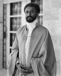 Emperor Haile Selassie Ier of Ethiopia.