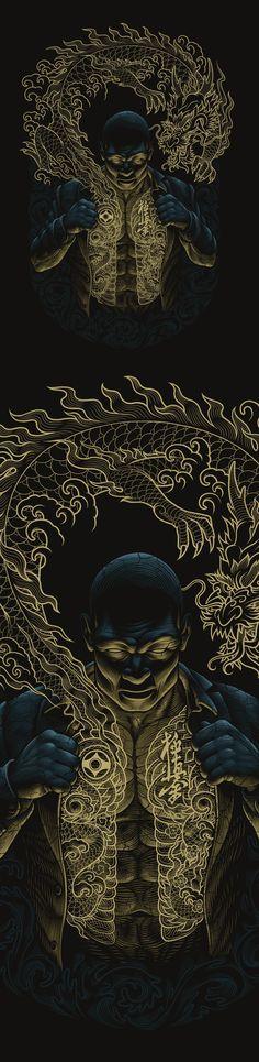Yakuza, Illustration © Олег Герт