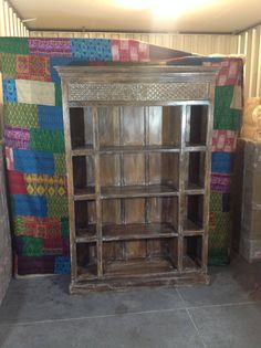 Indian Bookcase by MarigoldImports on Etsy