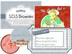 Etiquettes à gogo sos cookies