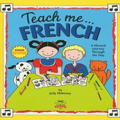 Teach Me French:   The award-winning musical language series from Teach Me/i is perfect for beginners to listen and learn a new language. Follow a story narrated in French as you learn useful words of everyday life including greetings, days of the week, numbers, colors, family members, body parts and more. Intertwined throughout the story are 21 delightful songs in French and English including: Are you Sleeping?/i, The More We Get Together/i, Head Shoudlers Knees and Toes/i, Six Little...