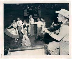 square dance 1954