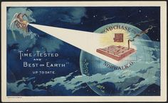 """""""Time tested and best on earth"""" up to date. (front) 