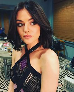 17 Times Celebs Temporarily Changed Their Hair | Lucy Hale