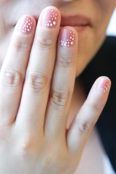 Spotted nail art