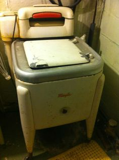 """Antique Maytag Washing Machine Model J2L.....My """"second momma"""", Lillie,  had one of these in her kitchen...I loved the sound it made.."""