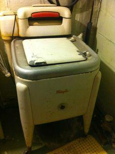 Antique Maytag Washing Machine -  I remember my mom using a machine like this.