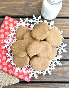 These Soft Gingersnaps are the perfect cookies to leave out for Santa ...