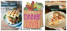 Dinner Diva has weekly meal plans - yum