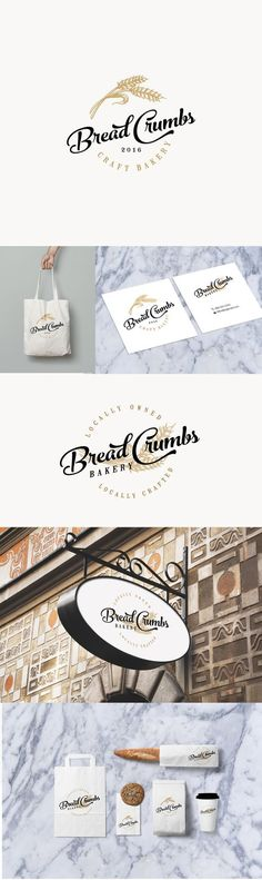 Bread Crumbs Bakery Branding by CBT | Fivestar Branding Agency – Design and Branding Agency & Curated Inspiration Gallery