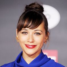 The Best Party Hairstyles - Rashida Jones's Braided Topknot from #InStyle