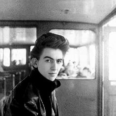 32 Fabulous Portrait Photos of a Young and Handsome James Spader George Harrison, Boy George, Paul Mccartney, The Quarrymen, John Lennon Beatles, Teddy Boys, The Fab Four, Great Bands, Photo Sessions