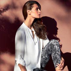 Joseph Ribkoff blouse #151472 en pantalon #151824  http://www.verschoorstore.nl/vrouw/Merken/Joseph-Ribkoff/#p/60307