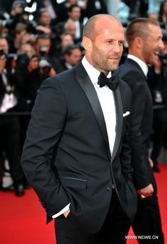 Jason Statham Cannes 2014