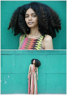 Urban Bush Babe Adey aka my hair-inspiration. Big, kinky & beautiful!!!!!
