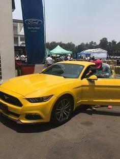 Ford Mustang presente en la #FormulaM