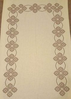 Seccade 1 Blackwork Patterns, Cross Stitch Boards, Prayer Rug, Cross Stitch Embroidery, Embroidery Designs, Sewing, Cerberus, Lassi, Embroidered Towels
