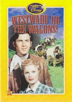 Westward Ho, the Wagons! (The Wonderful World of Disney) [DVD] Every Disney Movie, Disney Movie Club, Classic Disney Movies, Disney Films, Disney Pixar, Walt Disney, Disney Classics, Disney Movie Collection, First Animation