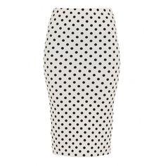 Polka Dot Pencil Skirt Tara Lynn's Boutique