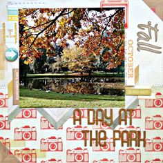 A day at the park - Scrapbook.com
