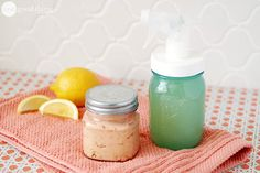 Homemade Citrus Enzyme Cleaner and Scrub - One Good Thing by Jillee