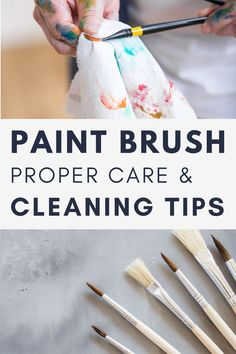 How to Clean your oil paint brushes! Learn the best practices for cleaning your brushes! How to wash paint brushes. How to take care of paint brushes. Painting for beginners. Learning how to paint. Oil painting for beginners. Painting tutorial. What soap to use to clean paint brushes. Step by step painting tutorial . #howtocleanpaintbrushes #paintbrushes #takingcareofpaintbrushes Oil Paint Brushes, Cleaning Paint Brushes, Stripping Paint, Oil Painting For Beginners, Oil Brush, Linseed Oil, Step By Step Painting, Baby Oil, Painting Process