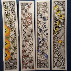 Bookmarks for the christmas market   #zentangle #zen #zia #zentangleart #inspiration #drawing #doodle #doodling #abstract #artwork #handmade #christmas #cardmaking