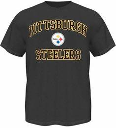 c8d5866e7 Pittsburgh Steelers Majestic Heart   Soul III Charcoal Men s T-Shirt