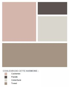 is in the spotlight: a tender and elegant mix Pantone, Murs Taupe, Taupe Walls, Design Palette, Color Balance, Color Card, Bedroom Colors, Color Pallets, My New Room