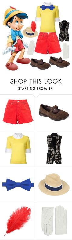 """""""Pinocchio"""" by fandom-girl365790 ❤ liked on Polyvore featuring RE/DONE, Skechers, Mary Katrantzou, STELLA McCARTNEY, Tommy Hilfiger, Maison Michel and Valentino"""